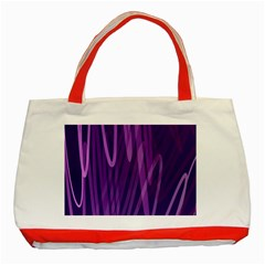 The Background Design Classic Tote Bag (Red)