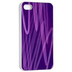 The Background Design Apple iPhone 4/4s Seamless Case (White)