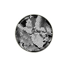 Mosaic Stones Glass Pattern Hat Clip Ball Marker (10 pack)
