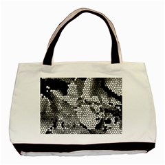 Mosaic Stones Glass Pattern Basic Tote Bag (Two Sides)