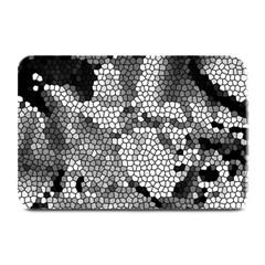 Mosaic Stones Glass Pattern Plate Mats