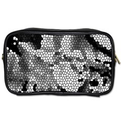 Mosaic Stones Glass Pattern Toiletries Bags 2-Side