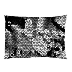 Mosaic Stones Glass Pattern Pillow Case (two Sides)