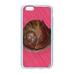 Snail Pink Background Apple Seamless iPhone 6/6S Case (Color)