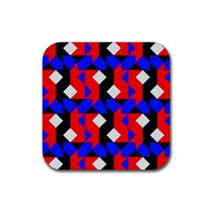 Pattern Abstract Artwork Rubber Coaster (Square)