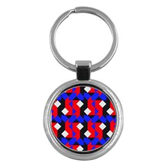 Pattern Abstract Artwork Key Chains (Round)
