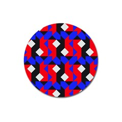 Pattern Abstract Artwork Magnet 3  (round)