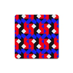 Pattern Abstract Artwork Square Magnet