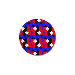 Pattern Abstract Artwork Golf Ball Marker