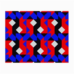 Pattern Abstract Artwork Small Glasses Cloth