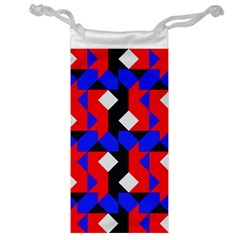 Pattern Abstract Artwork Jewelry Bag