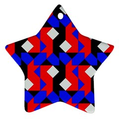 Pattern Abstract Artwork Star Ornament (Two Sides)