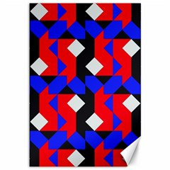 Pattern Abstract Artwork Canvas 12  x 18