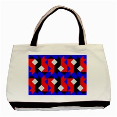 Pattern Abstract Artwork Basic Tote Bag (two Sides)