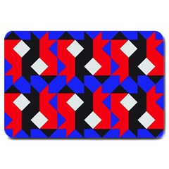 Pattern Abstract Artwork Large Doormat