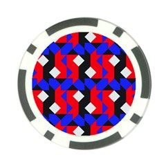 Pattern Abstract Artwork Poker Chip Card Guard (10 Pack)