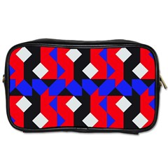 Pattern Abstract Artwork Toiletries Bags 2-Side