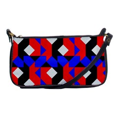 Pattern Abstract Artwork Shoulder Clutch Bags
