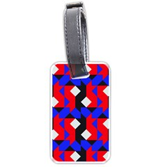 Pattern Abstract Artwork Luggage Tags (One Side)