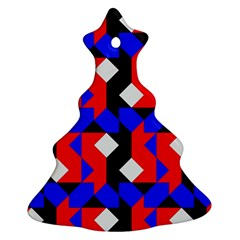 Pattern Abstract Artwork Christmas Tree Ornament (Two Sides)