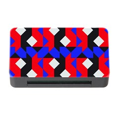Pattern Abstract Artwork Memory Card Reader with CF