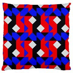 Pattern Abstract Artwork Large Cushion Case (One Side)