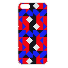 Pattern Abstract Artwork Apple iPhone 5 Seamless Case (White)