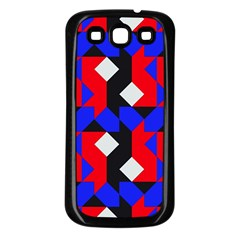 Pattern Abstract Artwork Samsung Galaxy S3 Back Case (black)