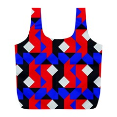 Pattern Abstract Artwork Full Print Recycle Bags (L)