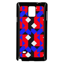 Pattern Abstract Artwork Samsung Galaxy Note 4 Case (Black)