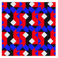 Pattern Abstract Artwork Large Satin Scarf (Square)