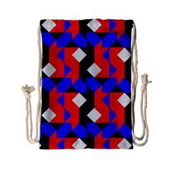 Pattern Abstract Artwork Drawstring Bag (small)