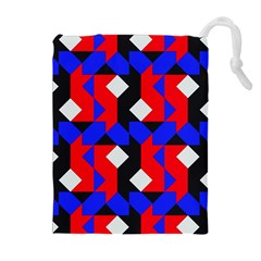 Pattern Abstract Artwork Drawstring Pouches (Extra Large)