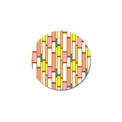 Retro Blocks Golf Ball Marker (4 pack)
