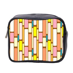 Retro Blocks Mini Toiletries Bag 2-Side