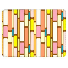 Retro Blocks Samsung Galaxy Tab 7  P1000 Flip Case