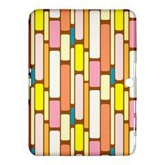 Retro Blocks Samsung Galaxy Tab 4 (10.1 ) Hardshell Case