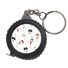 Snowman Christmas Pattern Measuring Tapes