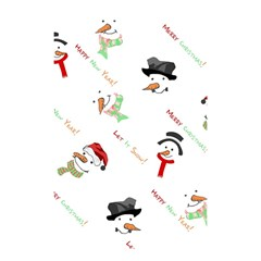 Snowman Christmas Pattern Shower Curtain 48  x 72  (Small)