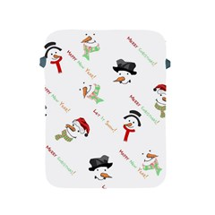 Snowman Christmas Pattern Apple Ipad 2/3/4 Protective Soft Cases