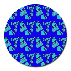 Winter Round Mousepads