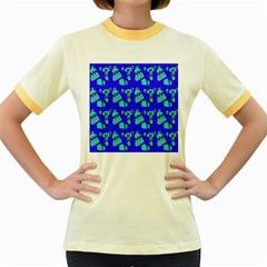 Winter Women s Fitted Ringer T-Shirts