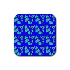 Winter Rubber Coaster (Square)
