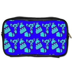 Winter Toiletries Bags 2 Side