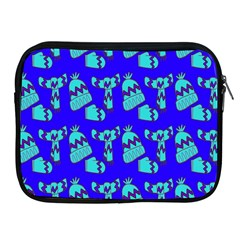 Winter Apple iPad 2/3/4 Zipper Cases