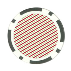 Stripes Poker Chip Card Guard