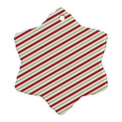 Stripes Ornament (Snowflake)