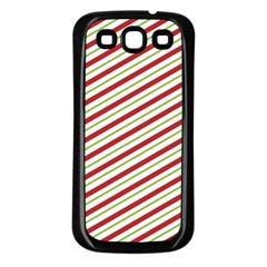 Stripes Samsung Galaxy S3 Back Case (black)