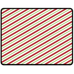 Stripes Double Sided Fleece Blanket (Medium)