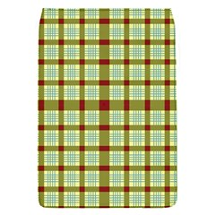 Geometric Tartan Pattern Square Flap Covers (S)